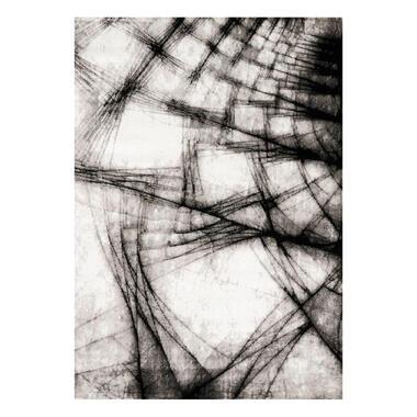 Floorita vloerkleed Broadway - grijs - 160x230 cm - Leen Bakker