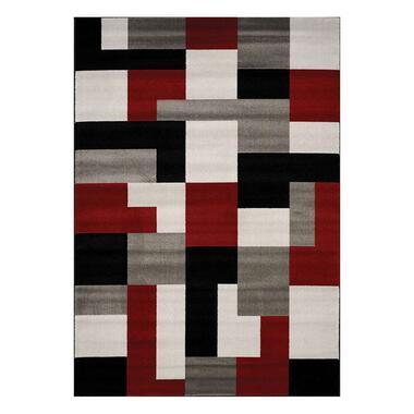 Floorita vloerkleed Village - multikleur - 160x230 cm - Leen Bakker
