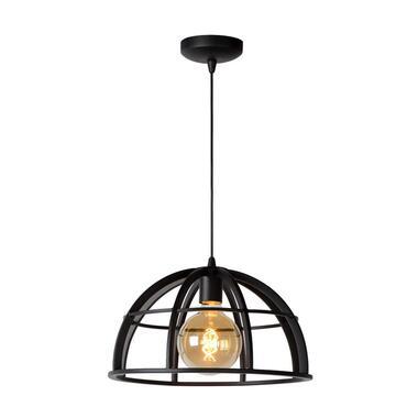 Lucide hanglamp Dikra - zwart - Ø40 cm - Leen Bakker