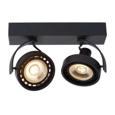 Lucide plafondspot Dorian 2 lamp - zwart - Leen Bakker