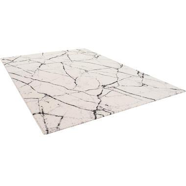 Vloerkleed Ururi - grijs - 160x230 cm - Leen Bakker