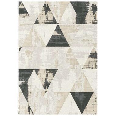 Vloerkleed Triani - crème - 160x230 cm - Leen Bakker