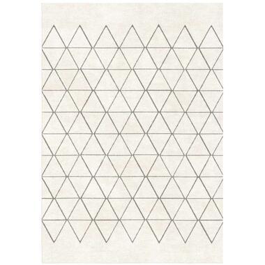 Vloerkleed Rivoli - crème - 160x230 cemtimeter - Leen Bakker