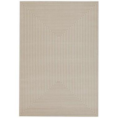 Vloerkleed Garies - crème - 120x170 cm - Leen Bakker