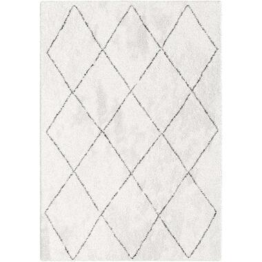 Vloerkleed Lizzano wit 160x230 cm Leen Bakker