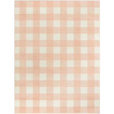Vloerkleed Tindari - roze - 160x213 cm - Leen Bakker