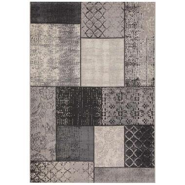 Vloerkleed Atalaya - grijs - 160x230 cm - Leen Bakker