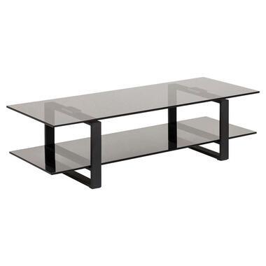 TV-meubel Kane - zwart - 32x120x45 cm - Leen Bakker