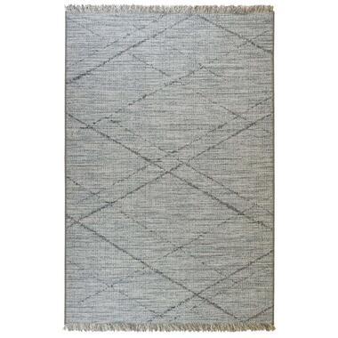 Floorita vloerkleed Les Gipsy - blauw - 194x290 cm - Leen Bakker