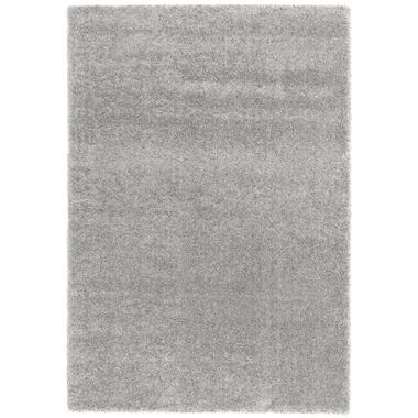 Vloerkleed Haris - grijs - 200x290 cm - Leen Bakker