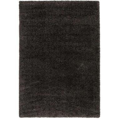 Vloerkleed Haris - antraciet - 200x290 cm - Leen Bakker