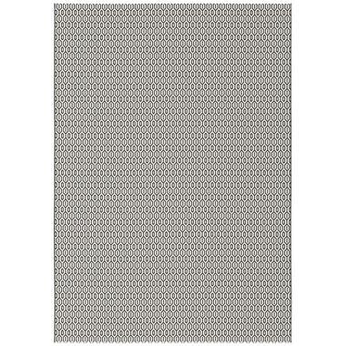 Vloerkleed Nabule - zwart - 200x290 cm - Leen Bakker