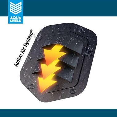 AquaShield loungesethoes L-vorm - 215x215x85xH70cm - Leen Bakker