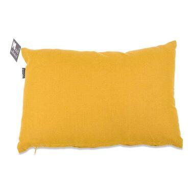 Sierkussen Tivoli - geel - 30x45 cm - Leen Bakker