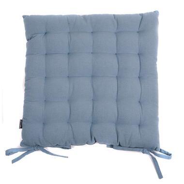 Zitkussen Tivoli - blauw - 45x45 cm - Leen Bakker