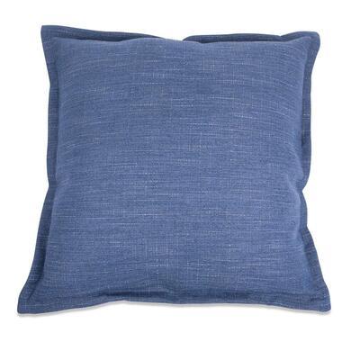 Kussen Salvador - blauw - 50x50 cm - Leen Bakker