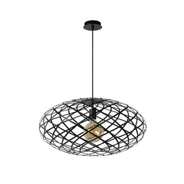 Lucide hanglamp Wolfram - zwart - Ø65 cm - Leen Bakker
