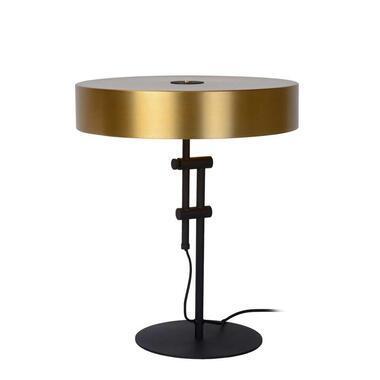 Lucide tafellamp Giada - mat goud/messing - Leen Bakker