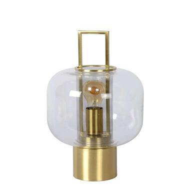 Lucide tafellamp Sofia - mat goud/messing - Leen Bakker