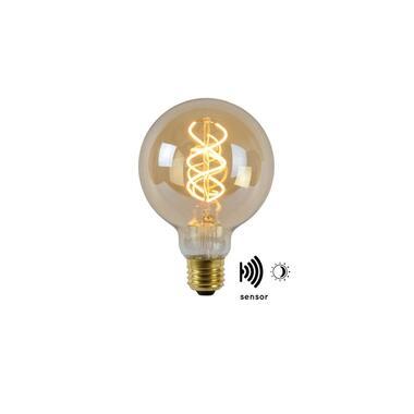 Lucide LED Bulb Twilight Filament lamp E27 4W - amber - Ø9,5 cm - Leen Bakker