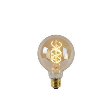 Lucide LED Bulb Filament lamp E27 - amber - Ø9,5 cm - Leen Bakker