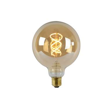 Lucide LED Bulb Filament lamp E27 - amber - Ø12,5 cm - Leen Bakker