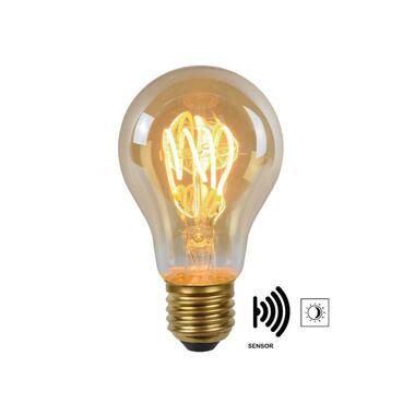 Lucide LED Bulb Twilight Filament lamp E27 4W - amber - Ø6 cm - Leen Bakker