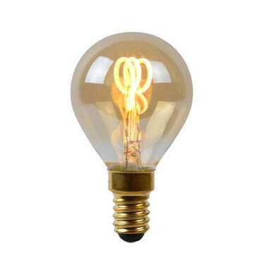 Lucide LED Bulb Filament lamp E14 3W - amber - Ø4,5 cm - Leen Bakker