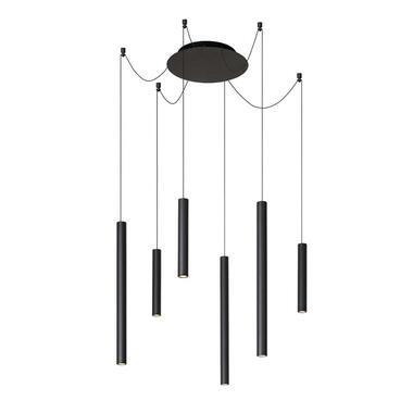 Lucide hanglamp Lorenz - zwart - Leen Bakker