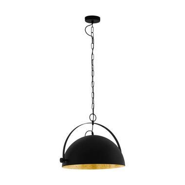 EGLO hanglamp Covaleda - zwart/goudkleurig - Leen