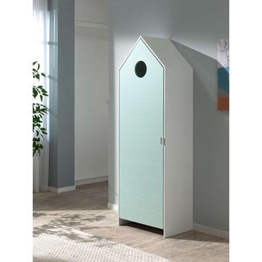 Vipack kledingkast Casimi 1 deurs mint 171,5x57,6x37 cm Leen Bakker