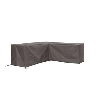Outdoor Covers premium loungesethoes L-vorm 230Lx280R - grijs - Leen Bakker