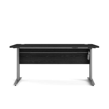 Bureau zit/sta Calvin - zwart/grijs - 150 cm - Leen Bakker