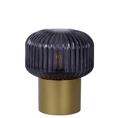 Lucide tafellamp Jany - mat goud/messing - Leen Bakker