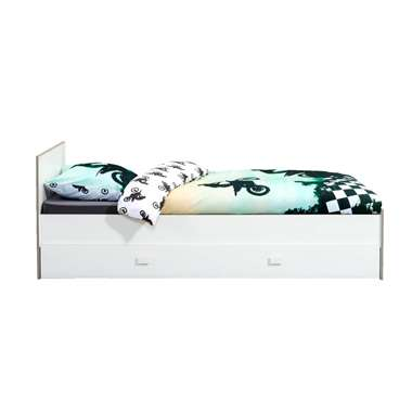 Bed Bob (incl. bedlade) - wit - 90x200 cm - Leen Bakker