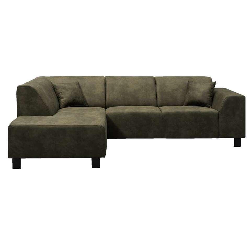 Canapé d'angle Nino - angle à gauche - vert