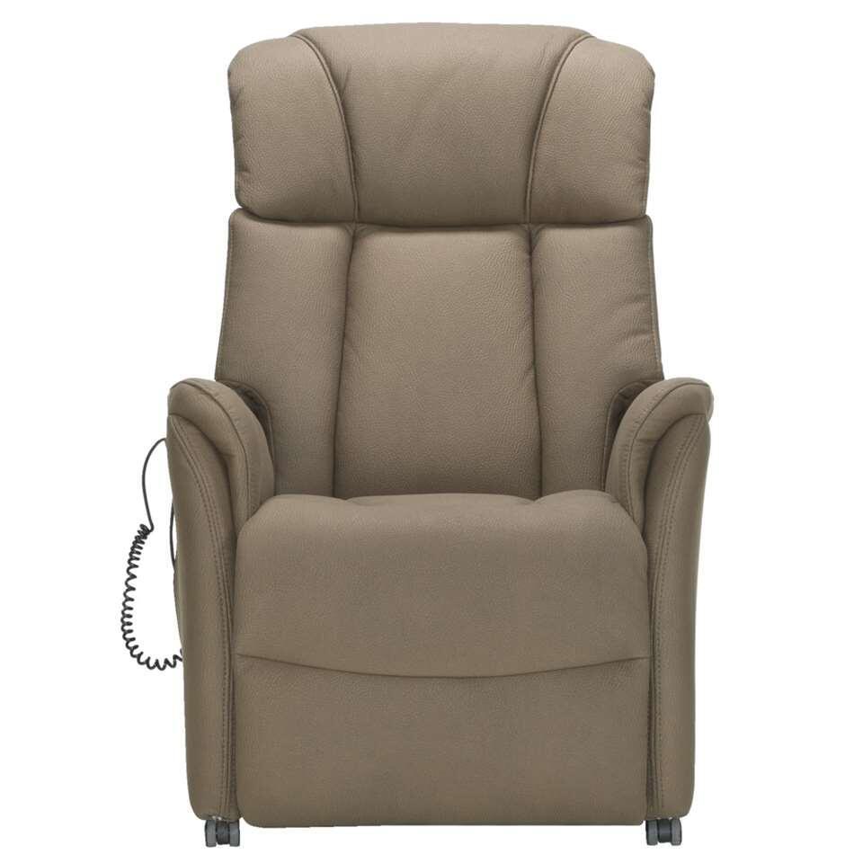 Relaxfauteuil Nebraska is een elektrisch verstelbare sta-op stoel. Als je moeite hebt met overeind te komen uit je stoel, is een sta-op stoel een uitkomst. Deze stoel biedt ondersteuning bij het opstaan. Dat is veilig en heel makk