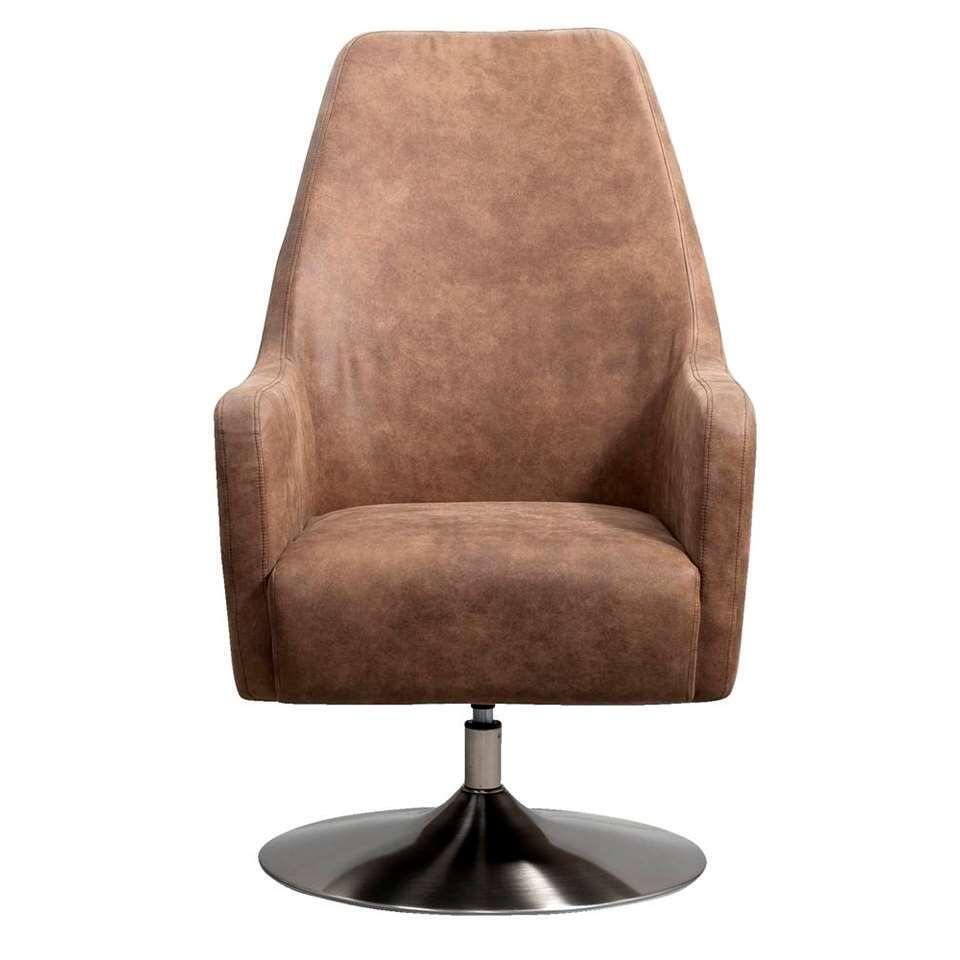 Relaxfauteuil Osterbro Orestad - stof - lichtbruin