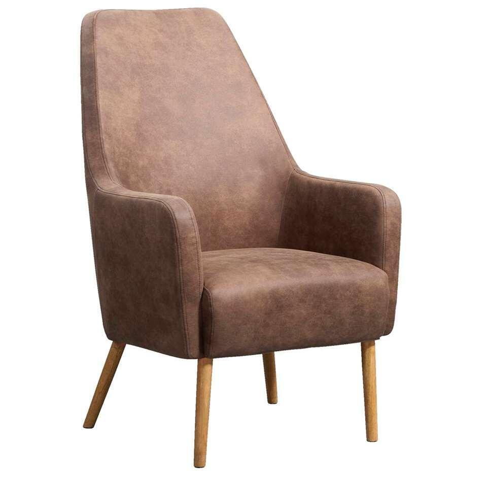 Relaxfauteuil Osterbro Sundby - stof - lichtbruin