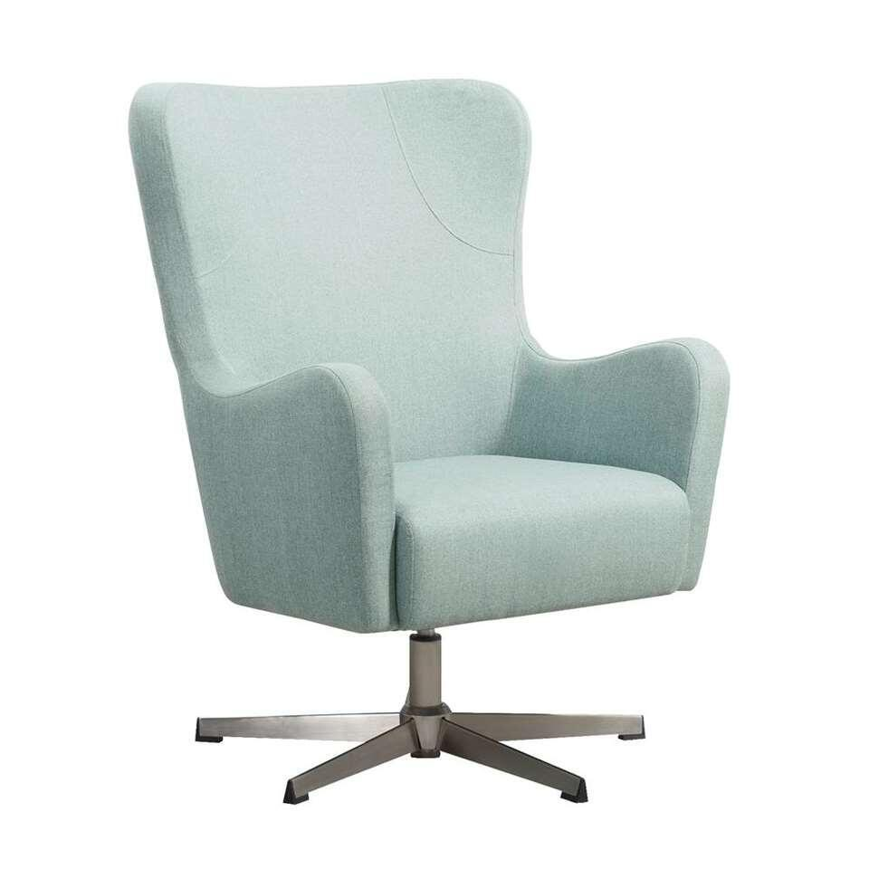 Relaxfauteuil Nørrebro Valby – stof – groen – Leen Bakker