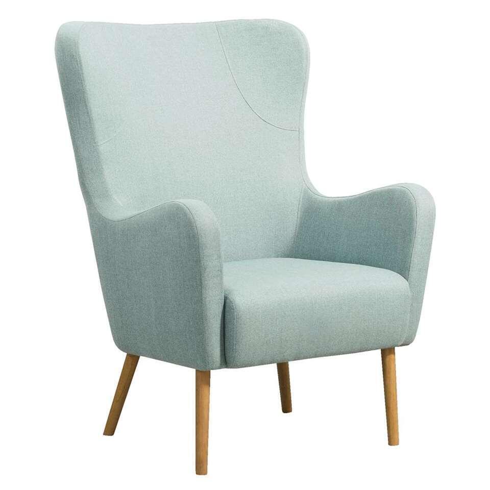 Relaxfauteuil Nørrebro Sundby – stof – olijfgroen – Leen Bakker