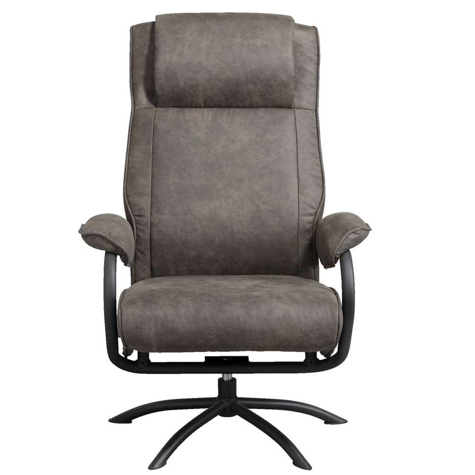 Relaxfauteuil Vic - antraciet