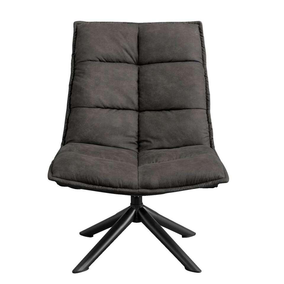 Fauteuil Clay - antraciet