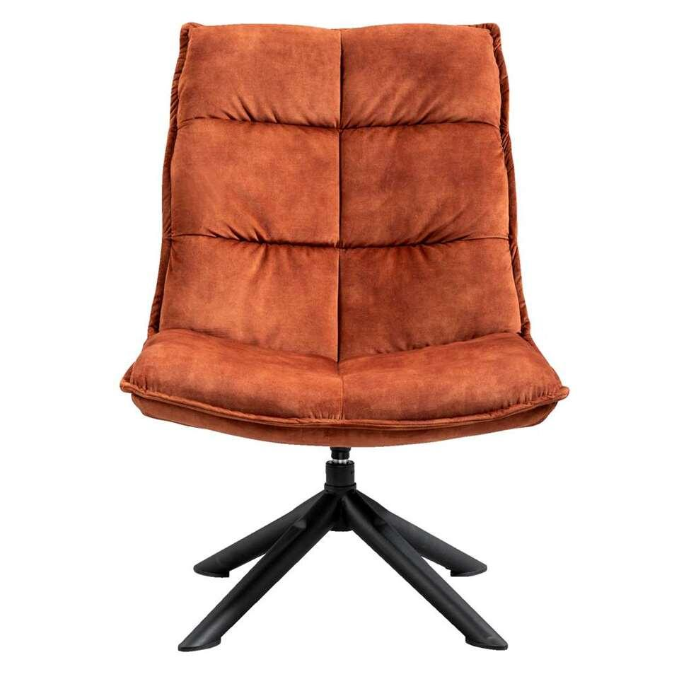 Fauteuil Clay - stof Decent - roest