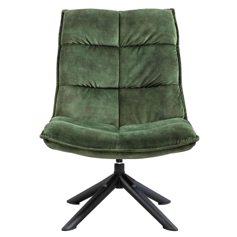 Fauteuil Clay - stof Adore - donkergroen