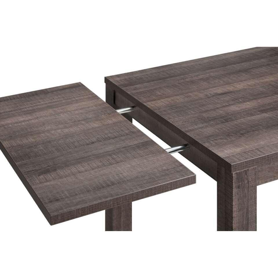 Verlengstuk tafel Sam - koloniaal eikenkleur - 40x90 cm - Leen Bakker