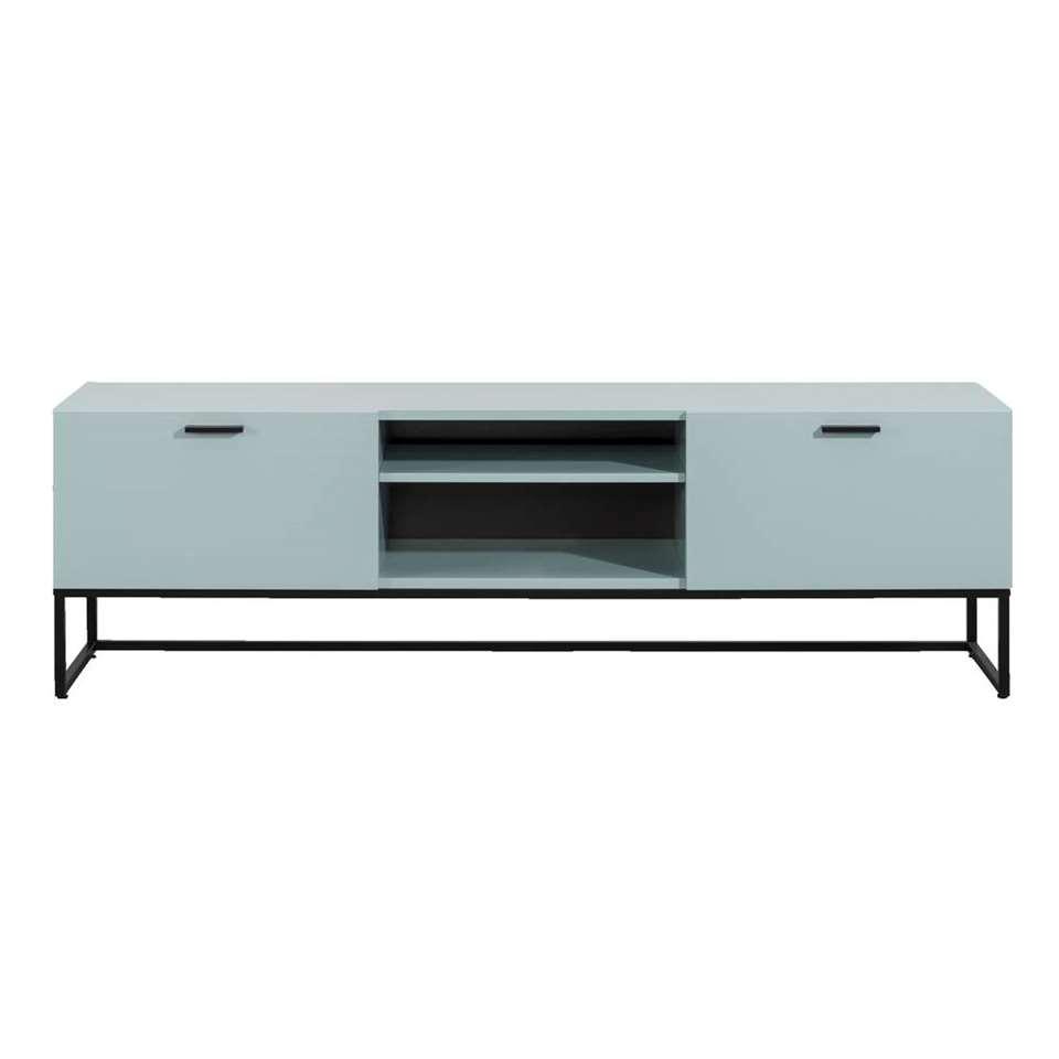 Tv-meubel Kioto – groen – 58x176x43 cm – Leen Bakker
