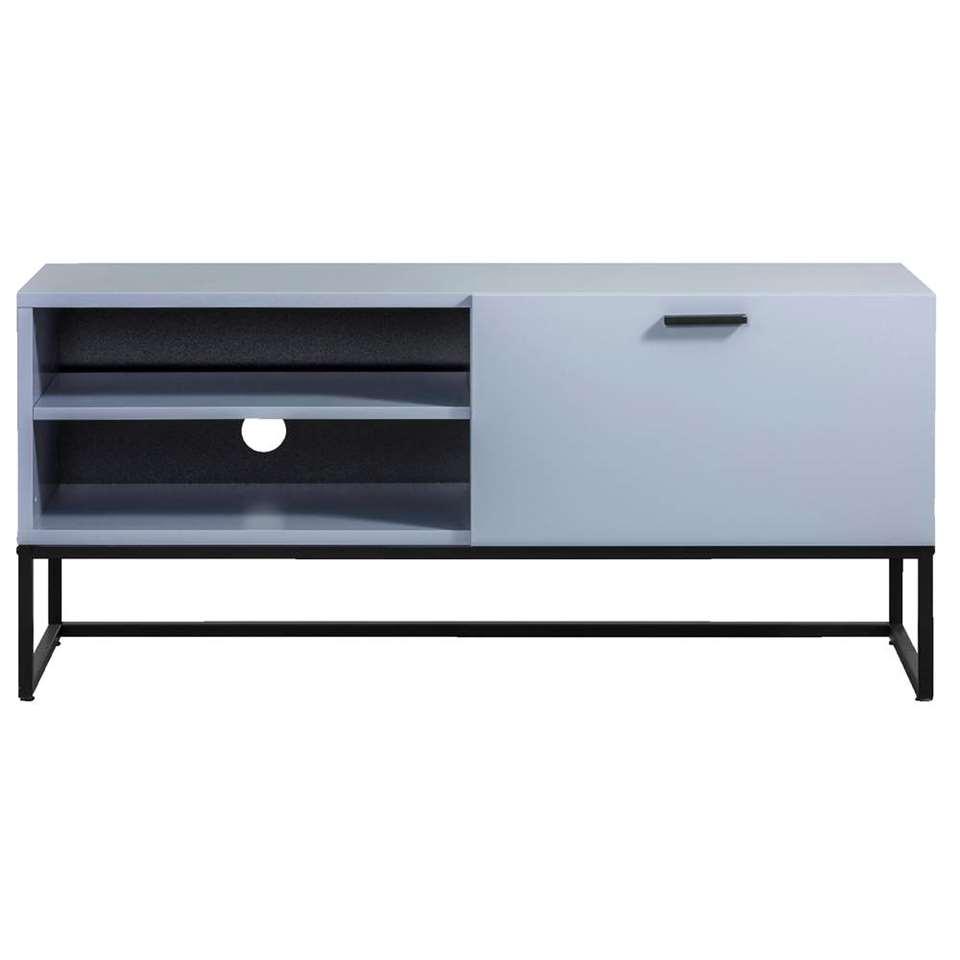 TV-meubel Kioto - blauw - 58x118x43 cm