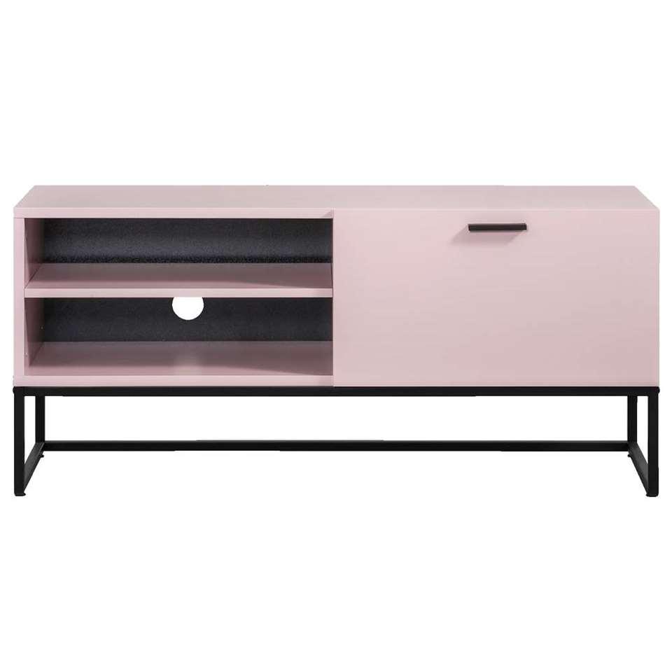 Tv-meubel Kioto - roze - 58x118x43 cm