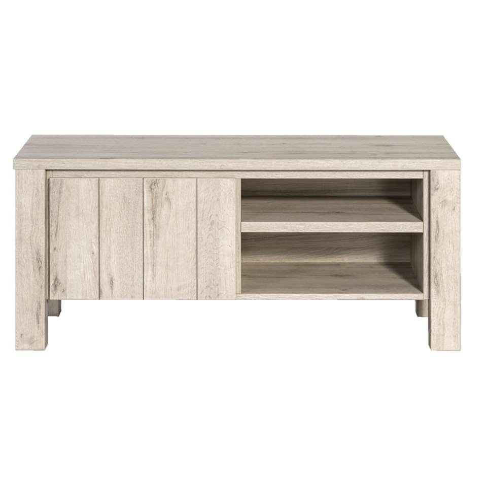 TV-dressoir Jens – grijseiken – 52x118x50 cm – Leen Bakker